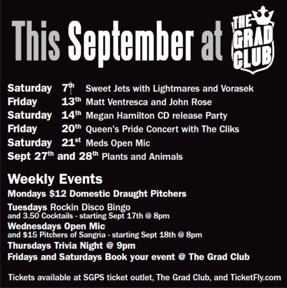 Sept 2013 events